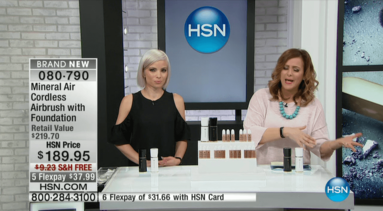 Had a Blast on HSN for Mineral Air!!
