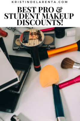 best pro and student makeup discounts