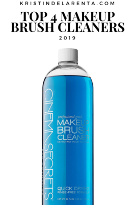 top 4 makeup brush cleaners 2019